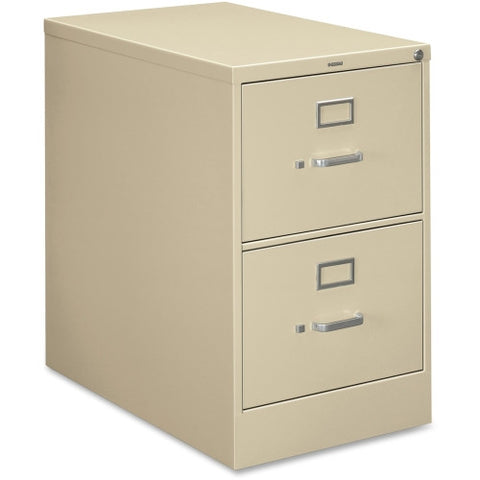 HON 210 Series Locking Vertical Filing Cabinet HON212CPL, Putty (UPC:089192033874)