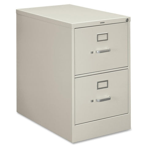 HON 210 Series Locking Vertical Filing Cabinet HON212CPQ, Gray (UPC:089192161539)