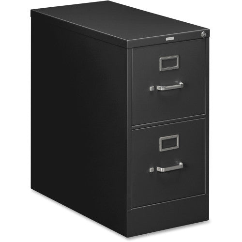 HON 210 Series Locking Vertical Filing Cabinet HON212PP, Black (UPC:089192034192)