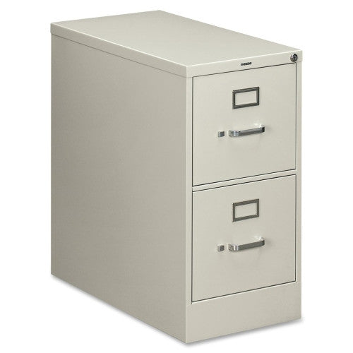 HON 210 Series Locking Vertical Filing Cabinet HON212PQ, Gray (UPC:089192125036)