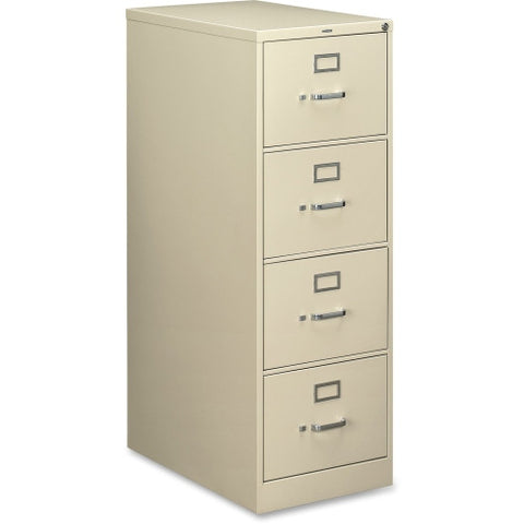 HON 210 Series Locking Vertical Filing Cabinet HON214CPL, Putty (UPC:089192034871)