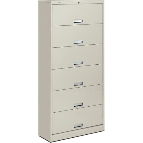 HON 600 Series Shelf File HON626CLQ, Gray (UPC:089192202690)