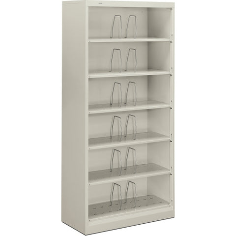HON 600 Series Shelf Open File Cabinet HON626CNQ, Gray (UPC:089192109401)