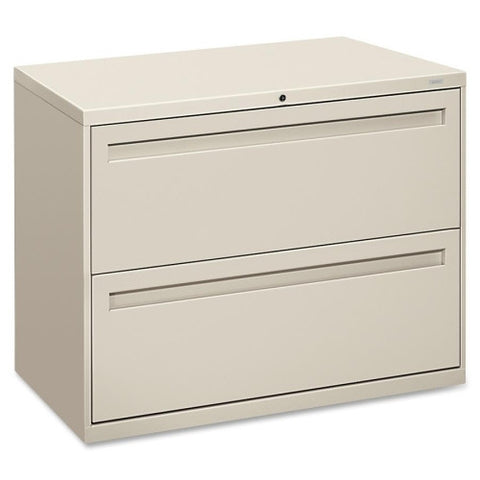 HON 700 Series Lateral File With Lock HON782LQ, Gray (UPC:089192862580)
