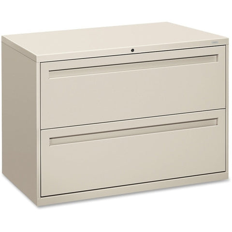 HON 700 Series Lateral File with Lock HON792LQ, Gray (UPC:089192863556)