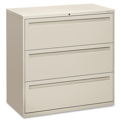 HON 700 Series Full-Pull Locking Lateral File HON793LQ, Gray (UPC:089192867141)