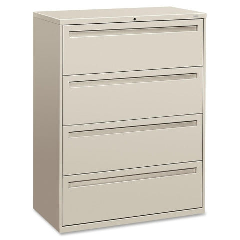 HON 700 Series Lateral File with Lock HON794LQ, Gray (UPC:089192863594)