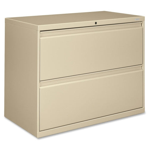 HON 800 Series Lateral File HON882LL, Putty (UPC:089192143252)