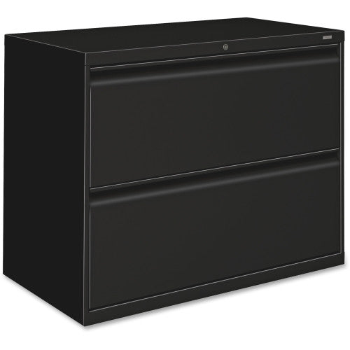 HON 800 Series Lateral File HON882LP, Black (UPC:089192143269)
