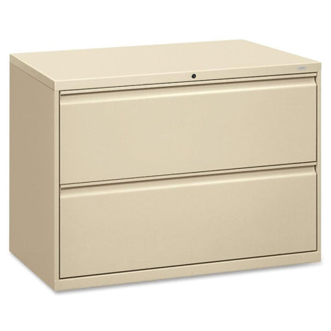 HON 800 Series Full-Pull Lateral File HON892LL, Putty (UPC:089192142682)