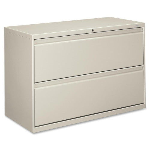 HON 800 Series Full-Pull Lateral File HON892LQ, Gray (UPC:089192143351)