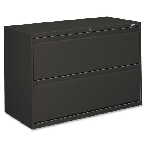 HON 800 Series Full-Pull Lateral File HON892LS, Black (UPC:089192853847)
