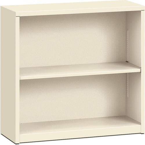 HON Brigade 2-Shelf Bookcase HONS30ABCL, Putty (UPC:089192007783)