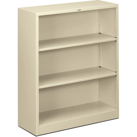 HON Metal Bookcase HONS42ABCL, Putty (UPC:089192008070)