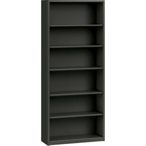 HON Metal Bookcase HONS82ABCS, Black (UPC:631530495457)