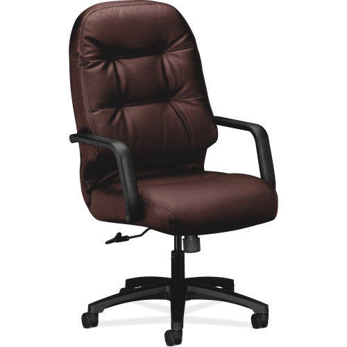 HON Pillow-Soft 2091 Executive High-Back Chair HON2091SR69T, Burgundy (UPC:089192045686)