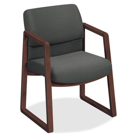 HON 2403 Sled Base Guest Arm Chair HON2403NAB12, Gray (UPC:745123382946)
