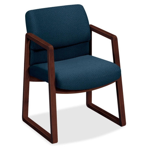 HON 2403 Sled Base Guest Arm Chair HON2403NAB90, Blue (UPC:745123374620)