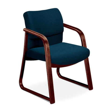 HON 2903 Sled Base Guest Arm Chair HON2903NAB90, Blue (UPC:745123402309)