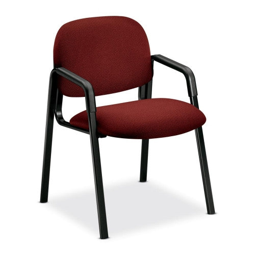 HON Solutions Seating 4003 Side-Arm Guest Chair HON4003AB62T, Burgundy (UPC:745123393195)