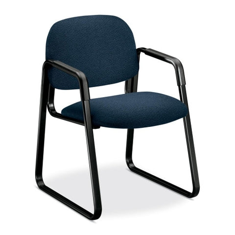 HON Solutions Seating 4008 Ergonomic Sled-Base Guest Chair HON4008AB90T, Blue (UPC:745123863186)