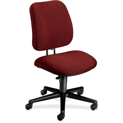 HON 7701 Pneumatic Pro-Task Swivel Chair HON7701AB62T, Burgundy (UPC:745123362887)