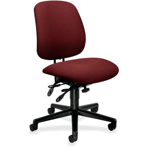HON 7708 High-Performance Task Chair HON7708AB62T, Burgundy (UPC:745123720151)