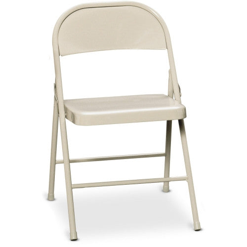 HON HFC01 Steel Folding Chair HONFC01LBG, Beige (UPC:089191881513)