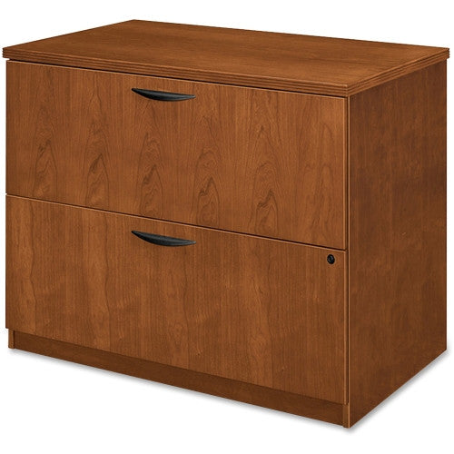 HON BW Series Two Drawer Lateral File BSXBW2170HH, Cherry (UPC:089192749027)