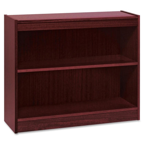 Lorell Panel End Hardwood Veneer Bookcase ; UPC: 035255600705