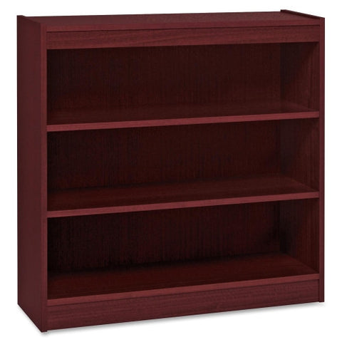 Lorell Panel End Hardwood Veneer Bookcase ; UPC: 035255600712