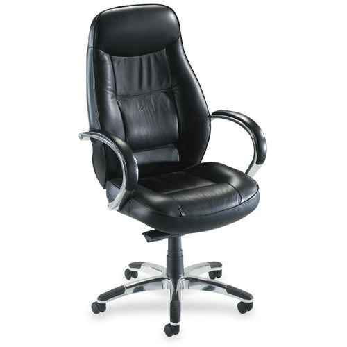 Lorell Ridgemoor Executive High-Back Swivel Chair ; UPC: 035255605014