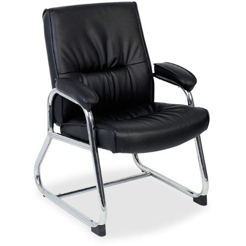 Lorell Bridgemill Leather Guest Chair ; UPC: 035255605045