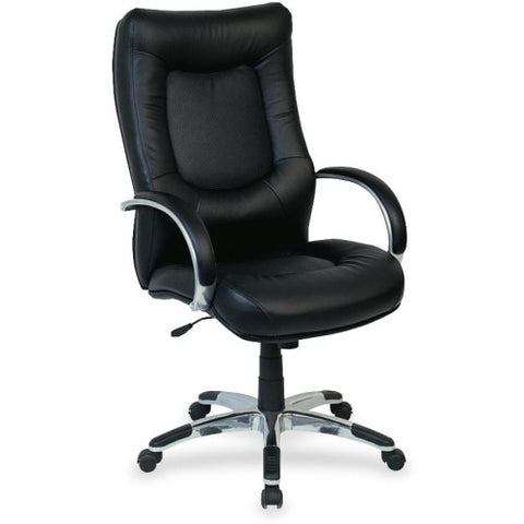 Lorell Stonebridge Leather Executive High-Back Chair ; UPC: 035255605052