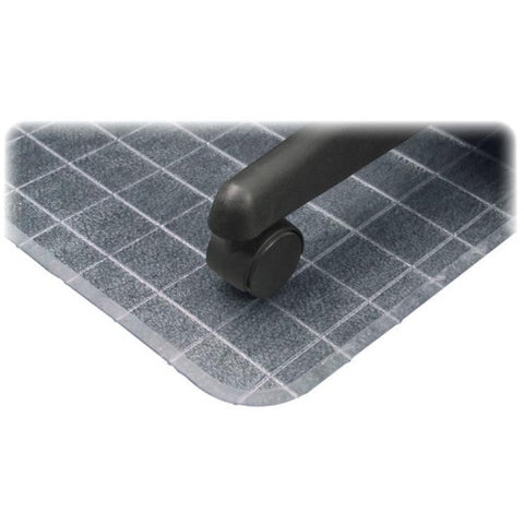 Deflecto DuraMat Checkered Chair Mat DEFCM83233, Clear (UPC:079916064987)