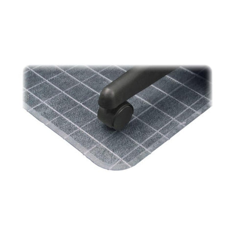 Deflecto DuraMat Checkered Chair Mat DEFCM83443F, Clear (UPC:079916064994)