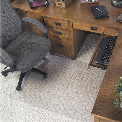 Deflecto SuperMat Checkered Chair Mat DEFCM84113, Clear (UPC:079916064949)