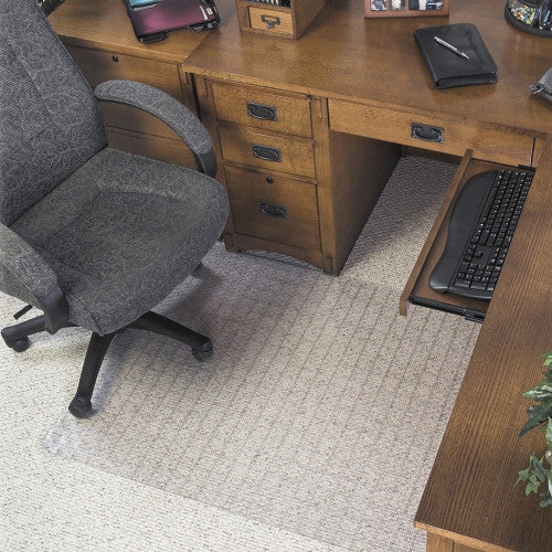 Deflecto DuraMat Checkered Chair Mat DEFCM83113, Clear (UPC:079916064970)