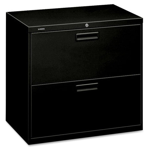"HON 500 Series 30"" Wide Lateral Files HON572LP, Black (UPC:089192401321)"