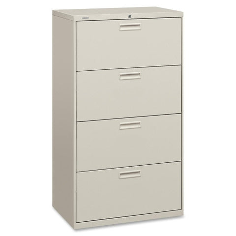 "HON 500 Series 30"" Wide Lateral File HON574LQ, Gray (UPC:089192386994)"
