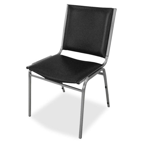 Lorell Padded Armless Stacking Chair ; UPC: 035255625029