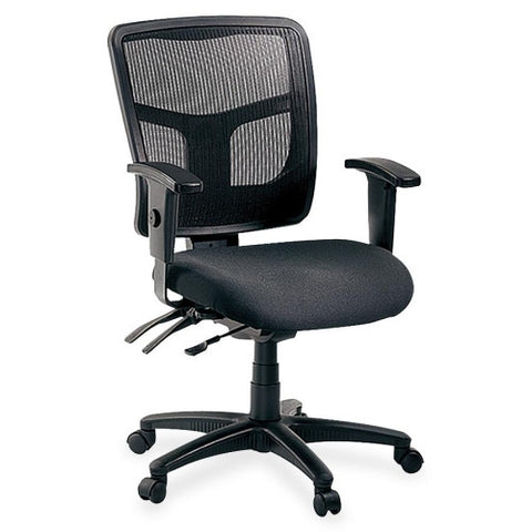 Lorell 86000 Series Managerial Mid-Back Chair ; UPC: 035255862011