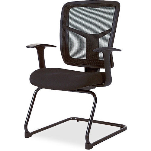 Lorell 86000 Series Mesh Side Arm Guest Chair ; UPC: 035255862028