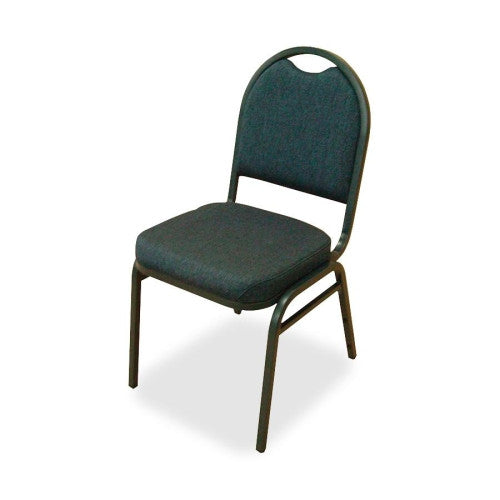 Lorell Round-Back Stack Chair ; UPC: 035255625142