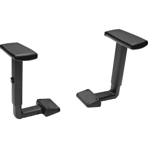 HON Volt Height-Adjustable Arms | Black Finish ; UPC: 035349715049 ; Image 3