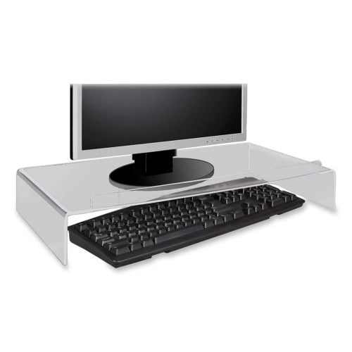 Kantek AMS300 Monitor Stand ; (750333353006); Color:Clear