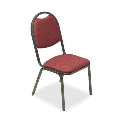 Lorell 8917 Round Back Stack Chair ; UPC: 035255625135