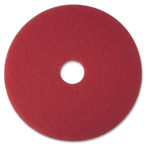 3M Red Buffer Pad Mop 5100 ; (048011083919); Color:Red