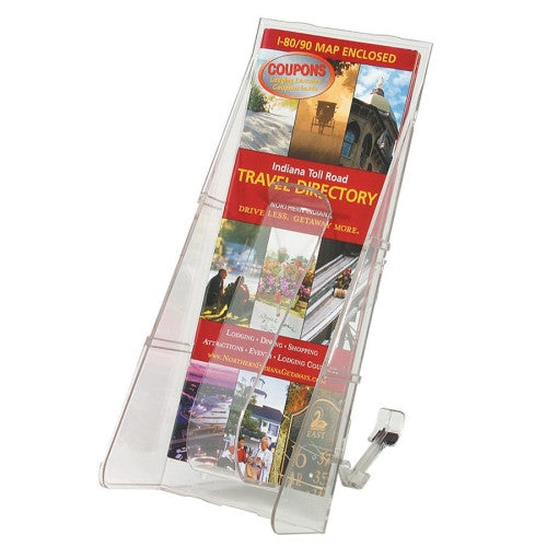 Deflecto Stand-Tall Countertop Unit DEF53601, Clear (UPC:079916536019)