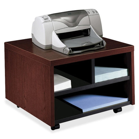 HON 105679N Mobile Printer/Fax Cart HON105679NN, Mahogany (UPC:782986524328)